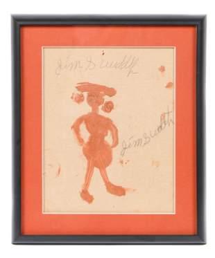 Jimmy Lee Sudduth (American, 1910-2007)