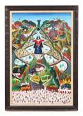 Prefete Duffaut Haitian 19232012 Painting