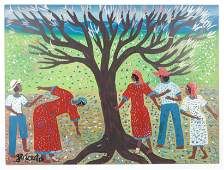 Gerard Fortune Haitian b 1933 Painting