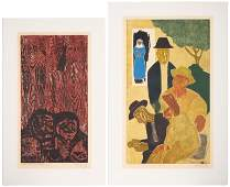Francisco Amighetti Costa Rican 19071998 Two Works