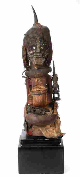 Exceptional African Songye Community Power Figure