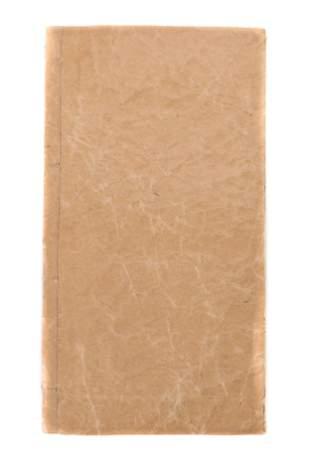Chinese Handwritten BookMedical Text on Handmade Paper