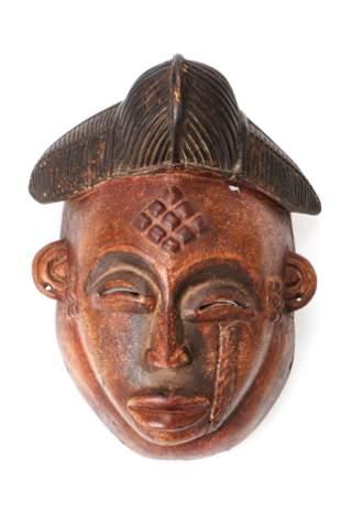 African Bapunu Mask Congo Brazaville