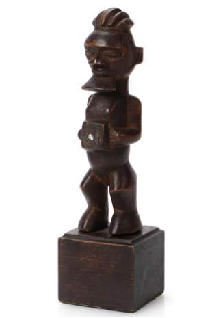 African Status Teke Fetish Congo
