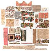 Study Group of Antique Textile Fragments