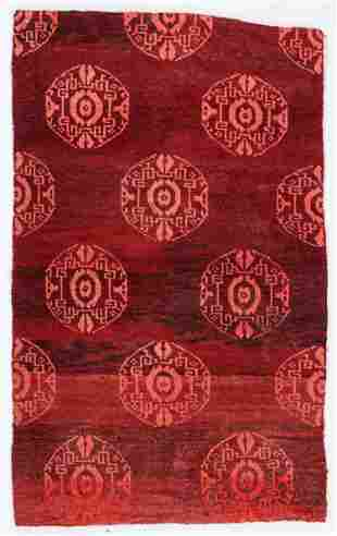 Khaden Rug, Tibet, Circa 1900, 2'9'' x 4'5''