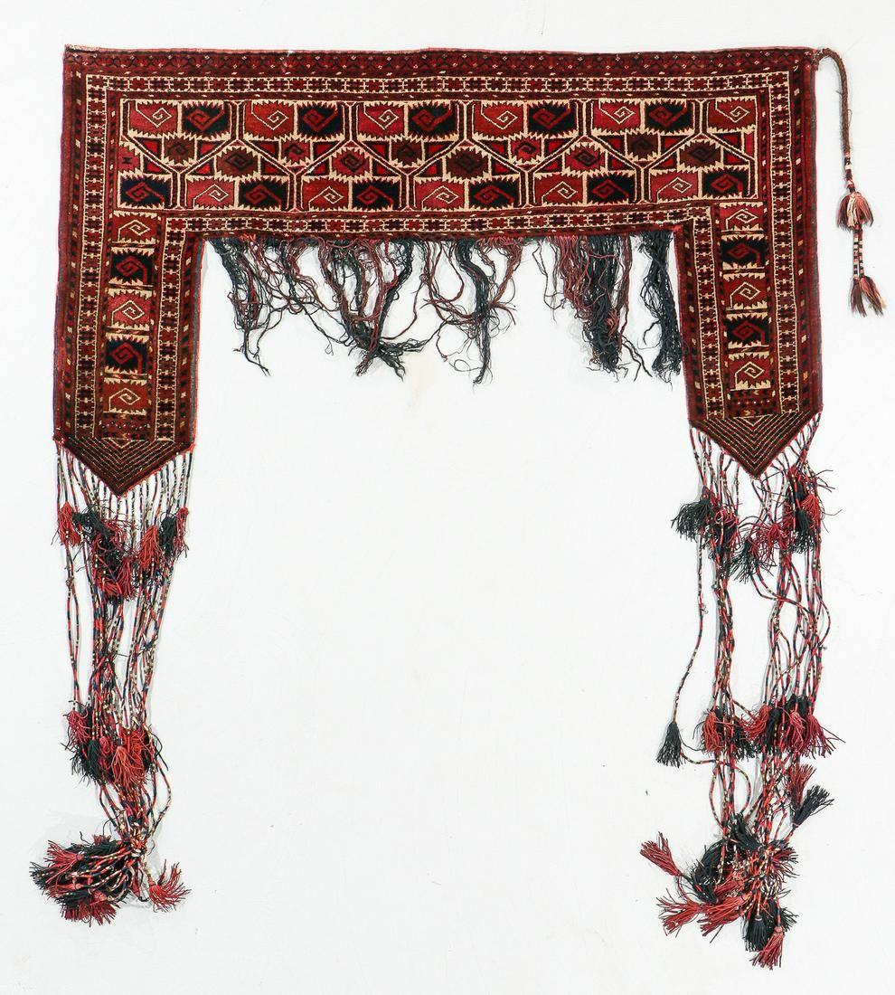 Saryk Turkmen Kapunuk, Turkmenistan, Ca. 1900