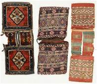 Three Antique Saddlebags/Heybe, Turkey
