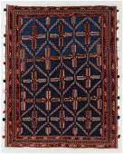 Vintage Sumak Rug, Persia, 4'11'' x 6'4''