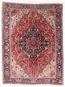 Fine Heriz Rug, Persia, Circa 1900, 9'5'' x 12'7''