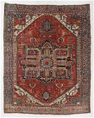 Serapi Rug, Persia, Late 19th C., 9'8'' x 11'11''