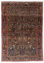 Kashan Rug, Persia, Circa 1900, 8'10'' x 12'9''