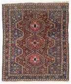Shiraz Rug, Persia, Late 19th C., 5'4'' x 6'1''