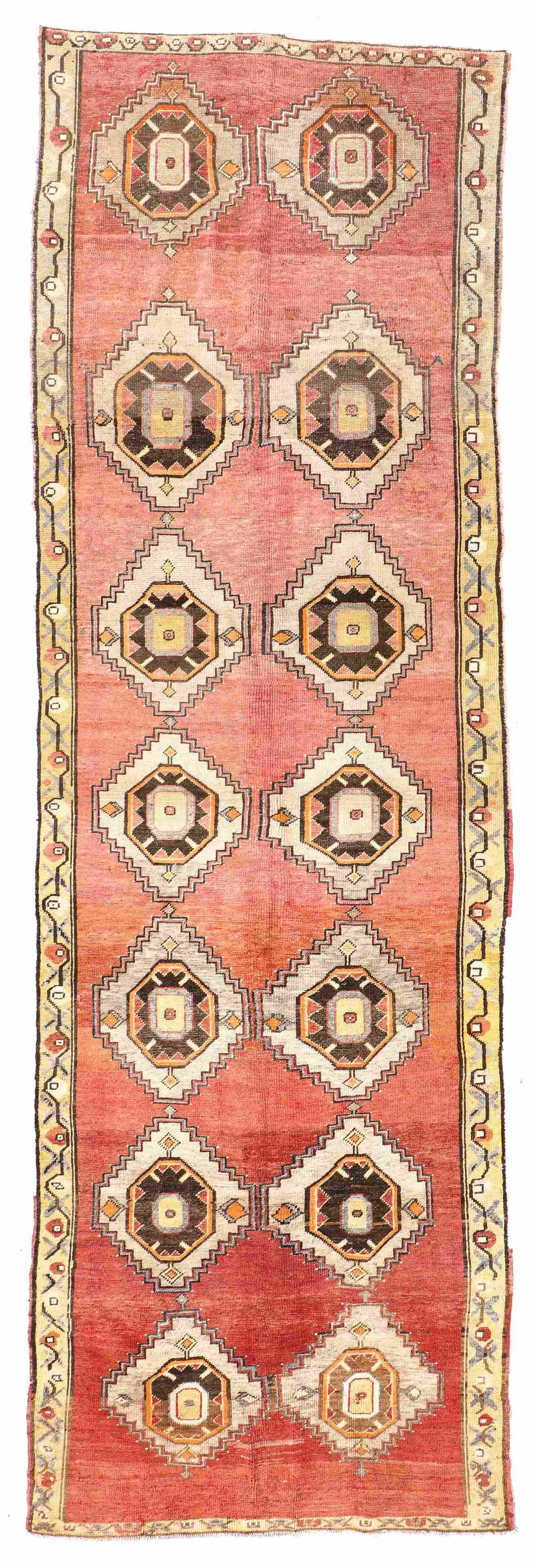 Oushak Village Rug, Turkey, Early 20th C., 3'11'' x