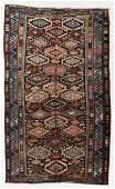 West Persian Kurd Rug, Persia, Circa 1900, 6'2'' x