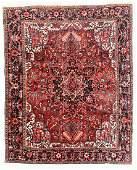 Heriz Rug, Persia, Mid 20th C., 8'2'' x 9'10''