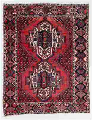 Afshar Rug, Persia, Mid 20th C