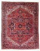 Heriz Rug, Persia, Mid 20th C., 11'6'' x 14'7''