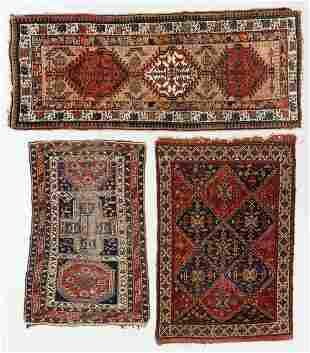 Three Estate Antique Persian & Caucasian Rugs