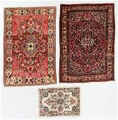 Three Estate Persian Rugs EarlyMid 20th C