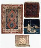 4 Estate Antique Oriental Rugs