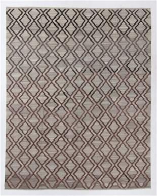 Modern Arabesque Style Kilim, Egypt, 9'11'' x 12'6''