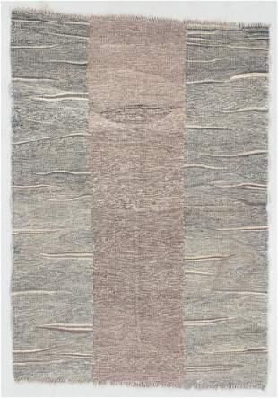 Modernist Kilim, Afghanistan, 3'5'' x 4'10''
