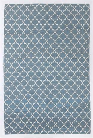 Modern Arabesque Lattice Kilim, Egypt, 9'9'' x 14'8''