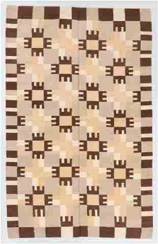 Modernist Kilim, Egypt, 6'4'' x 10'2''