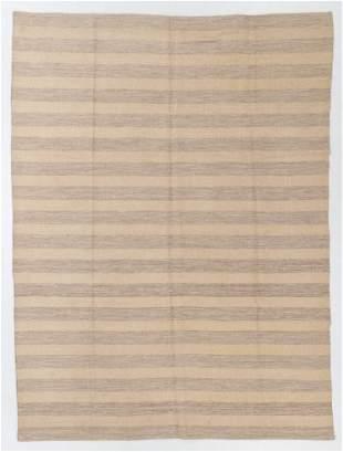 Modernist Striped Kilim, Egypt, 8'1'' x 10'10''