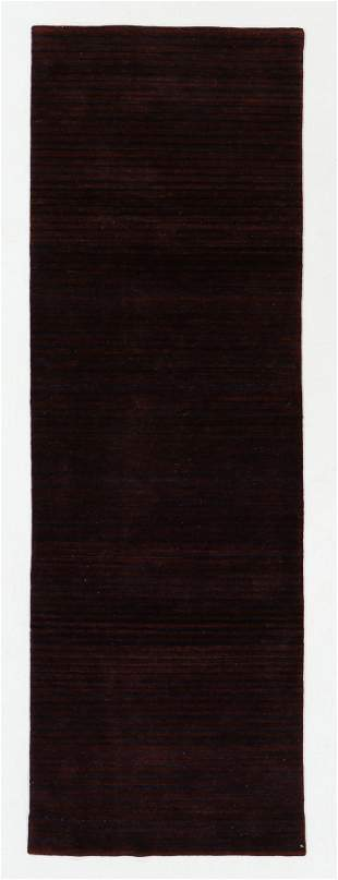 Modern Striped Rug, Nepal, 2'7'' x 7'11''