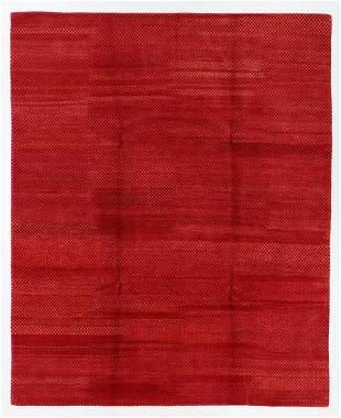 Modernist Tibetan Rug, Nepal, 8'3'' x 10'1''