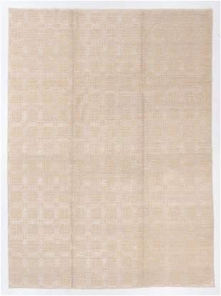 Modernist Tibetan Rug, Nepal, 8'11'' x 12'4''