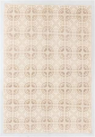 Modernist Tibetan Rug, Nepal, 6'1'' x 8'10''