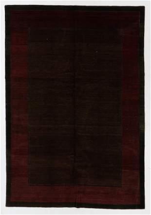 Modernist Tibetan Rug, Nepal, 5'10'' x 8'6''