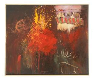 Roger Van Ouytsel (American, b. 1941) Oil Painting