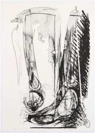Brian Wood (American, b. 1948) Lithograph