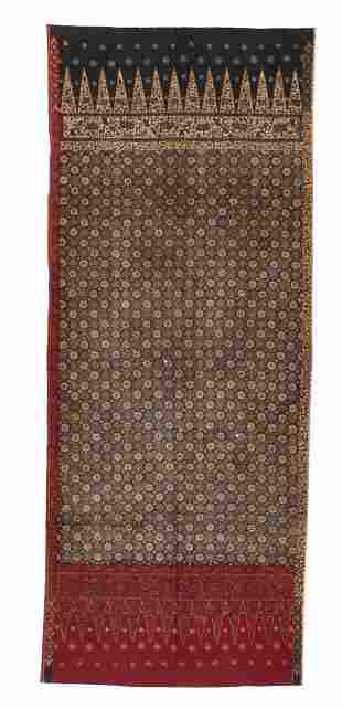 Antique Batik Skirt Cloth, Sumatra