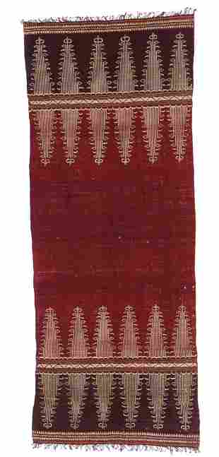 18th-19th C. Indonesian Shoulder Cloth Textile