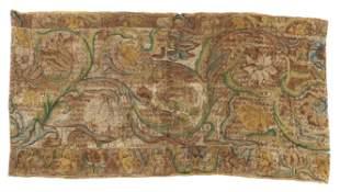 17th C. European Textile Fragment