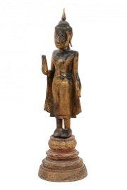 Antique Rattanakosin Buddha Statue, Thailand