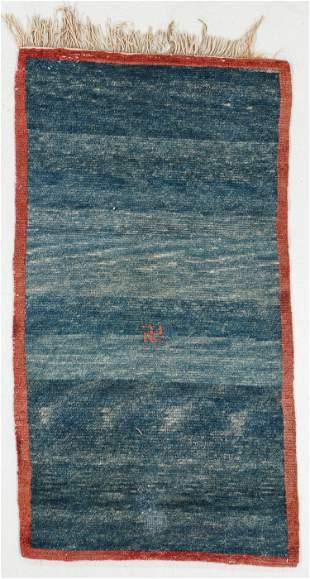 Khaden Swastika Rug, Tibet, Late 19th C., 2'3'' x 4'1''