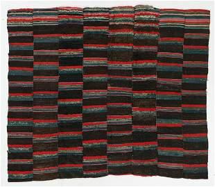 Rare Piled Blanket/Rug, Tibet, Late 19th C., 5'11'' x