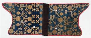 Khotan Saddle Rug, Western China, 19th C.
