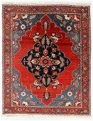 Fine Serapi Rug, Persia, Late 19th C., 7'10'' x 10'0''