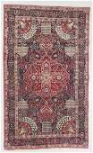 Lavar Kerman Rug, Persia, Late 19th C., 4'6'' x 7'6''