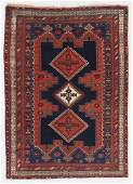 Afshar Rug, Persia, Late 19th C., 4'6'' x 6'5''