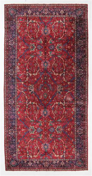 Agra Rug, India, Early/Mid 20th C., 10'1'' x 20'2''