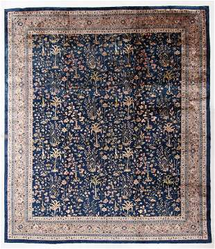Agra Rug, India, Early 20th C., 13'8'' x 15'9''