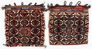 Pair of Southwest Persian Saddlebags, Ca. 1890